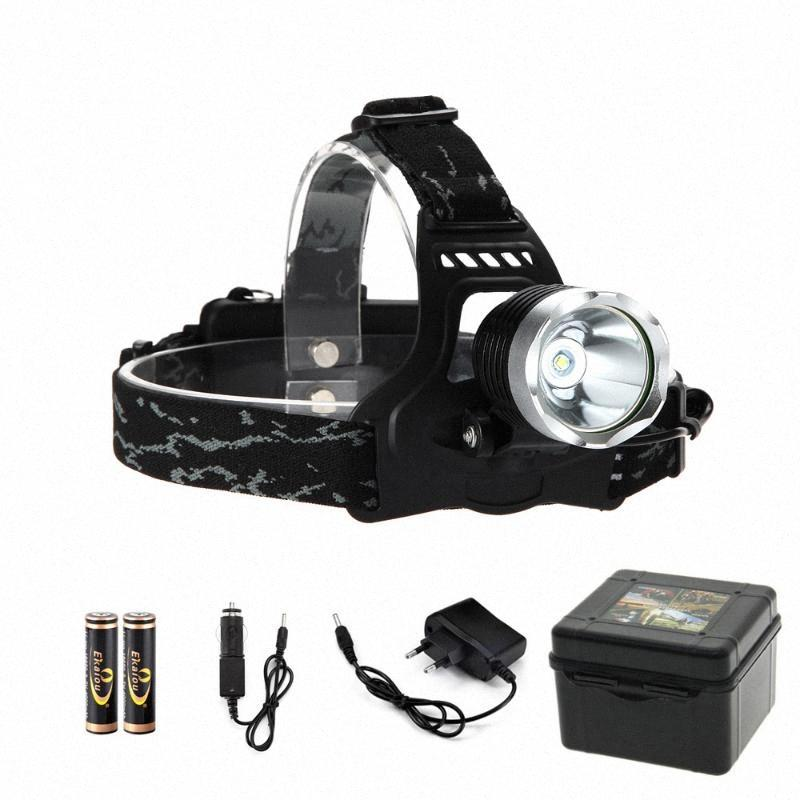 1000 Lumen XM L T6 LED كشافات 3 وضع العلوي E8EW #