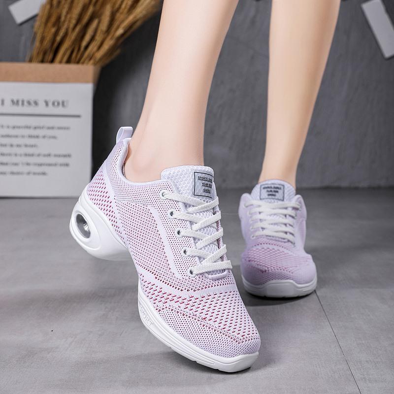 Vestito scarpe da donna scarpe da donna moda tondo tacchi casual all'aperto leggero traspirante tenis per donna zapatillas mujer