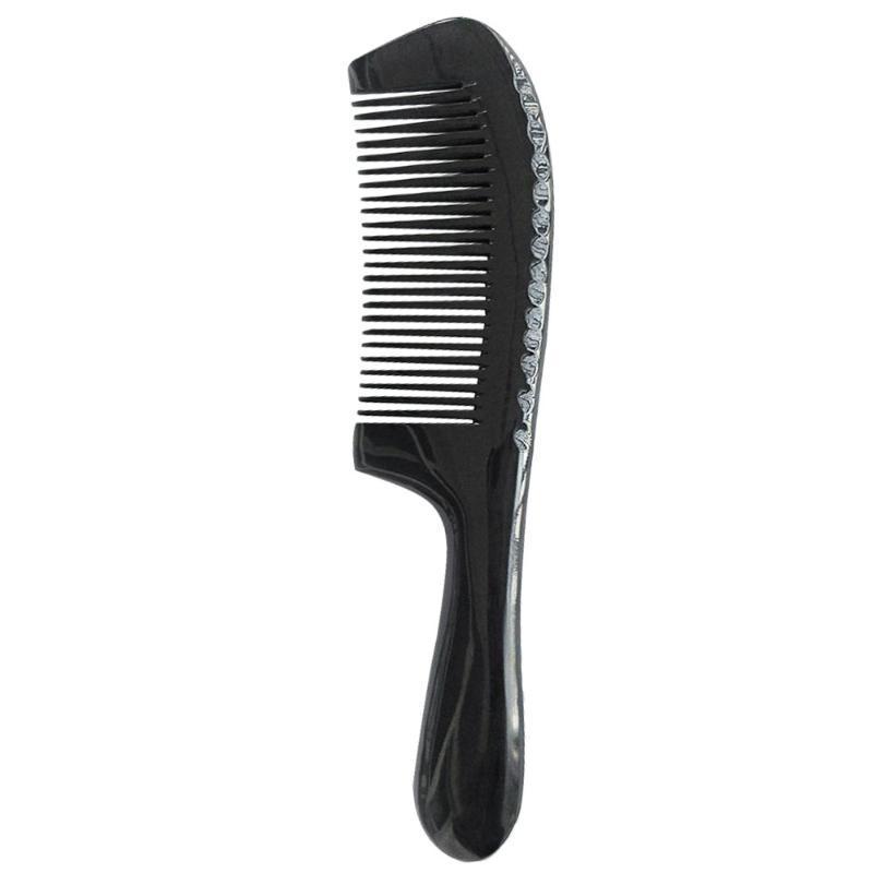 Pennelli per capelli 1 PZ Fine Denti Pettine Bue Corno Horn Styling styling squisito