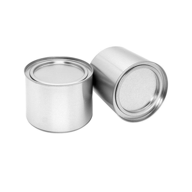 250ml de chá de alumínio lata latas pote frasco recipientes comestic selo portátil de chá de metal lata canção de vela lata 731 k2