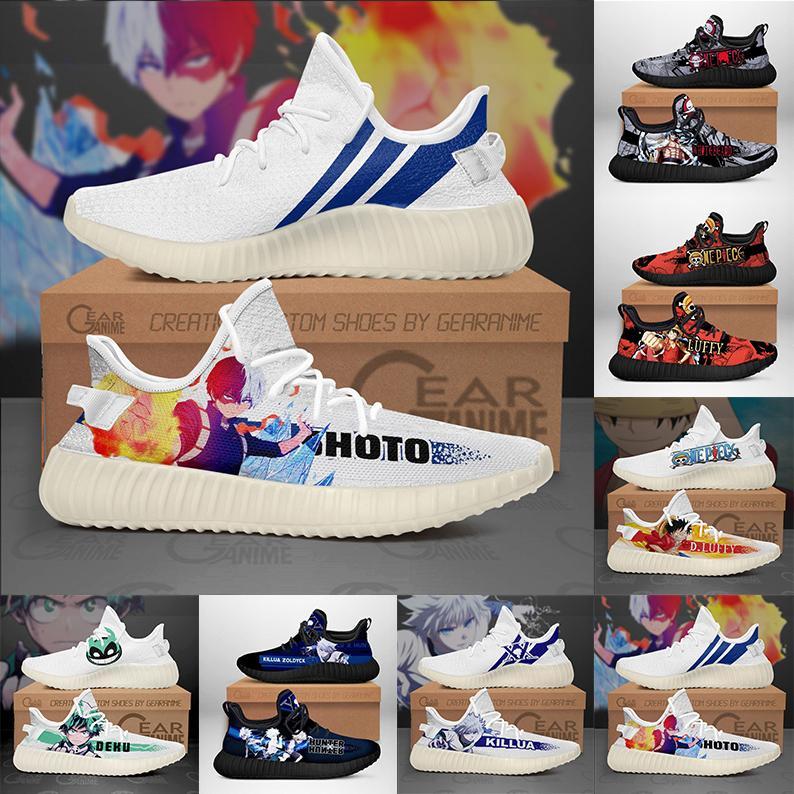 2021 scarpe da corsa classiche fai da te cartone personalizzato cartone di alta qualità sportivo da uomo da uomo da scarpe da ginnastica da esterno anime gioventù stile moda uomo s donna formatori o0198