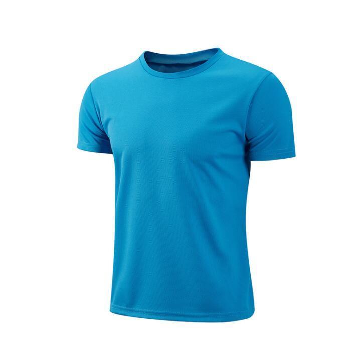 EY3361 2021 Sommerkleidung für Männer Frauen Shorts Sleeve T-shirts Atmungsaktives T-shirt Pure Farbe Outdoor-Kleidung EY6938