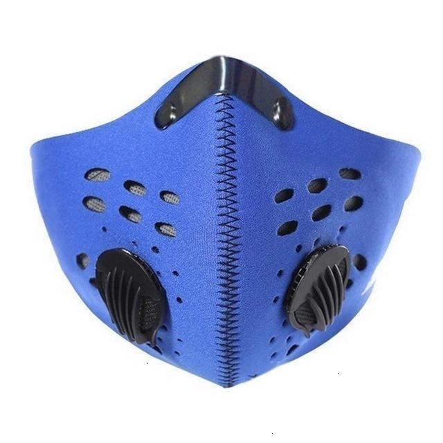 Antifulen Загрязнение PM 2.5 Маска Пыль для взрослых Маска для взрослых моющийся противотуманный противотуманный противотубельный аппарат Активированный углеродный фильтр с 2 Filter90FC