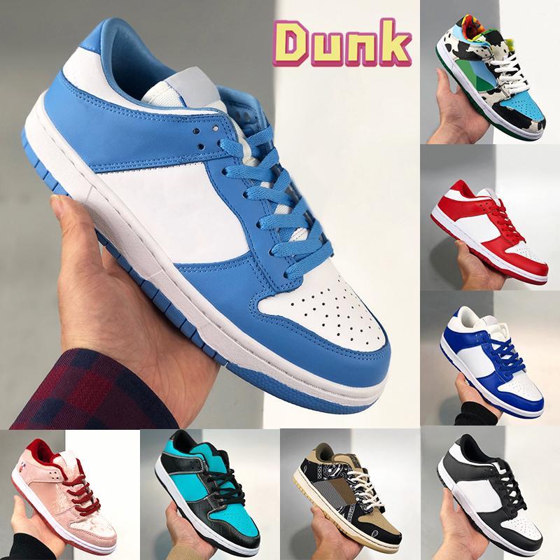 남자 UNC 해안 실행 신발 chunky dunky 화이트 블랙 스트리트 호커 대학교 레드 시러큐스 아쿠아 그림자 낮은 여성 운동화 미국 5.5-11