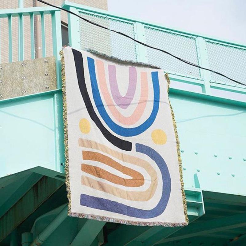 BlancheBlanket8qvdfashion et créative tapisserie Lettre d'amour Couverture Couverture de la serviette Velvet Velvet Velvet