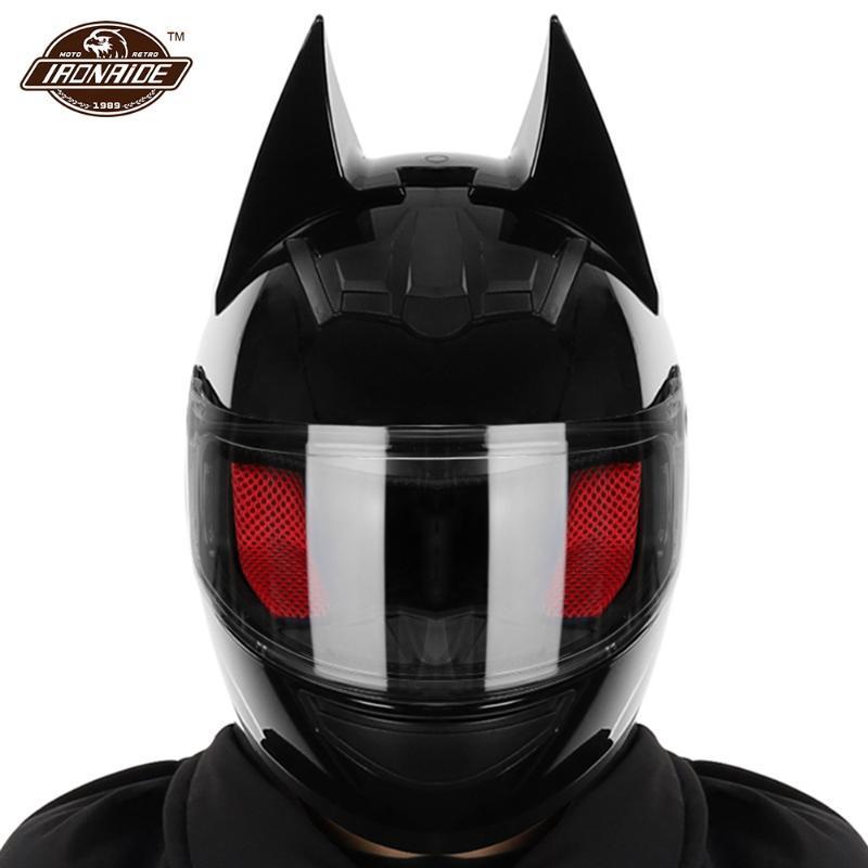Casques de moto 2021 Homme Hommes Motocross Casco Casco Moto Capacete Capacete Accessoires avec coin pour 4 Saison