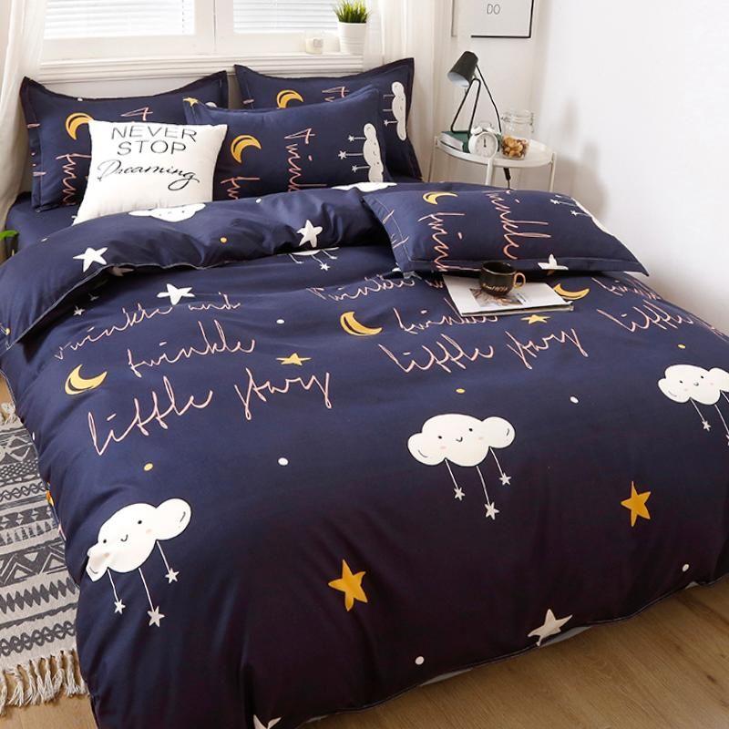 Bettwäsche-Sets Set Anime-Bettwäsche von Bettwäsche Bett 150 Nordische Hüllen 240 x 220 Luxus-Haus-Möbstellen BettPreads für Matr ...
