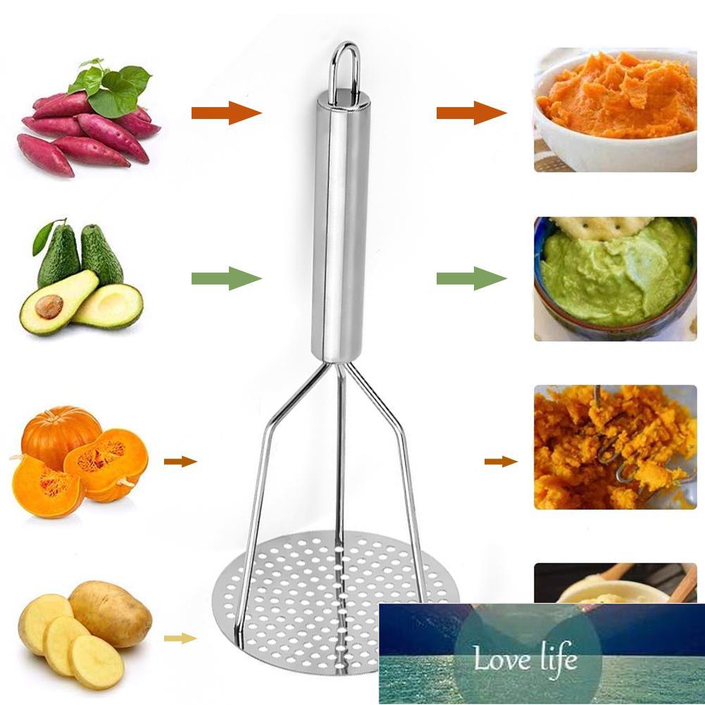 Potato prensado Master Ricer Puree Juice Maker Patato Pusher PUSHER SOBLE Mashed Patatas Crusher Herramientas de frutas