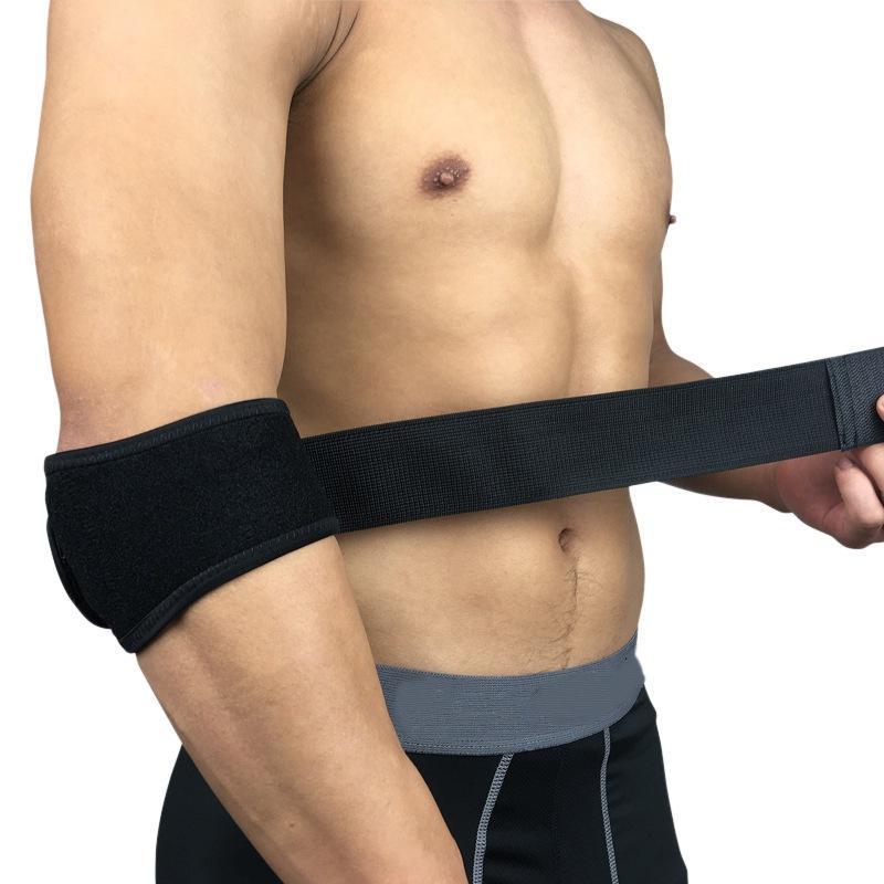 Ellenbogen-Knie-Pads unterstützen Sportsicherheit Basketball-Wrap-Rad-Arm-Brace-Schutzschutz-Laufen Camping-Wärmer