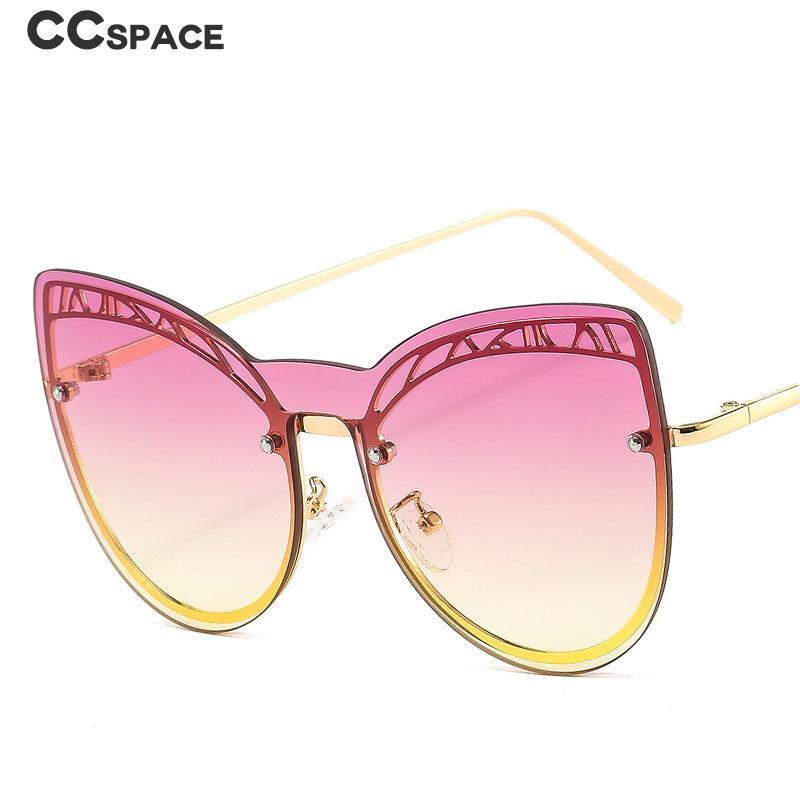 46629 oeil surdimensionné oeil d'une lentille lunettes de soleil de luxe femmes femmes nuances UV400 Vintage lunettes
