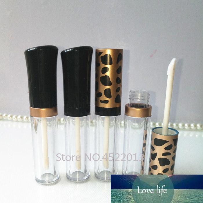 Tubo de brillo de labios de alta calidad de 5 ml, botella de embalaje de lápiz labial creativo de primera calidad, contenedores cosméticos vacíos, herramienta de maquillaje