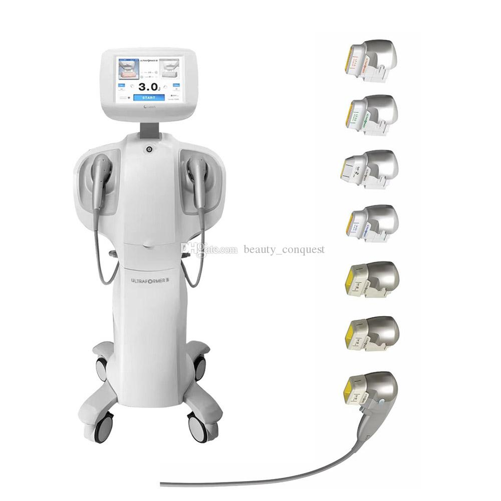 2021 Yeni Profesyonel Cilt Bakımı Ultrasonik HIFU Yüz Kaldırma 7D HIFU Ultrason Cilt Kaldırma HIFU Makinesi Vücut Zayıflama