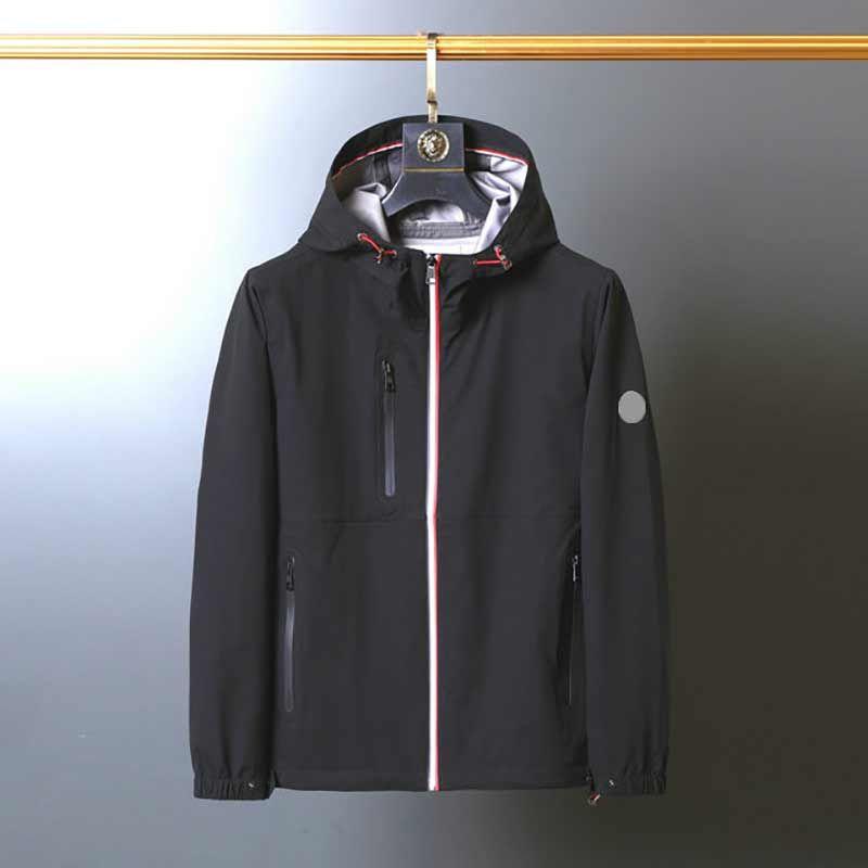 Designer Monclair Mens Jackets Roupas França Bombardeiro Bombardeiro Jaqueta Europa e American Style Outerwear Casaco Moda Hombre Casual Rua Casacos M746
