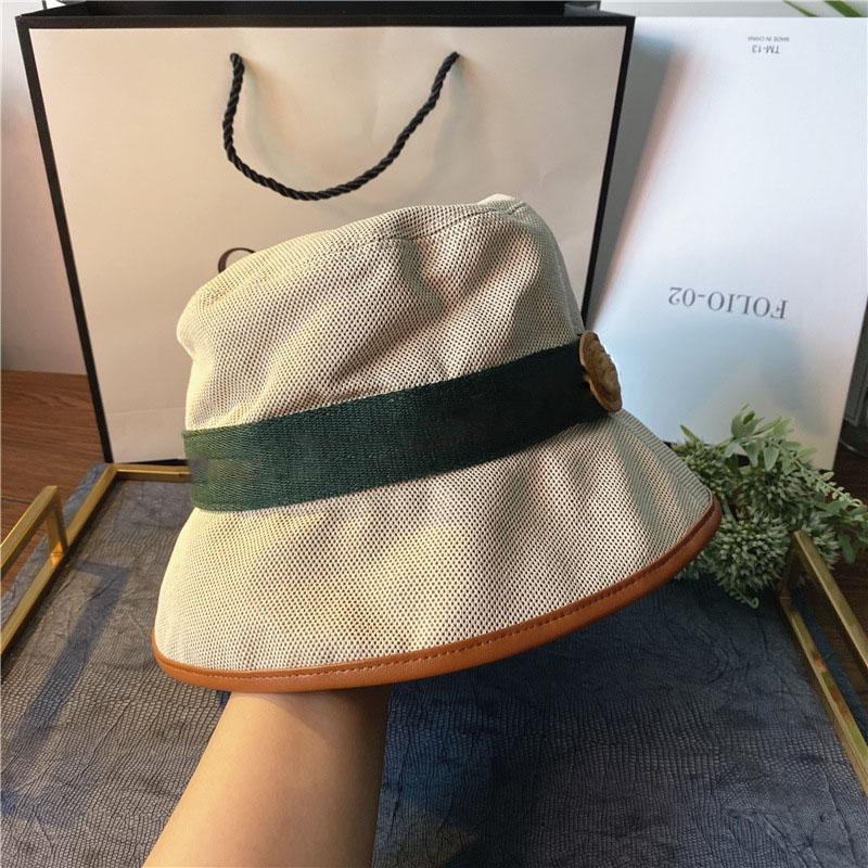 21ss جديد أزياء دلو قبعة قبعة قبعة للإنسان امرأة فيدورا القبعات شارع القبعات أعلى جودة حار بيع الشمس دلو القبعات 3 اللون