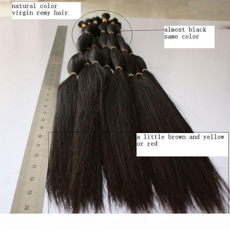 100G индийские плетеные волосы насыпь без уток прямой волна навалом волос для плетения 3 часы от 10 до 26 дюймов натуральные цветные наращивания волос