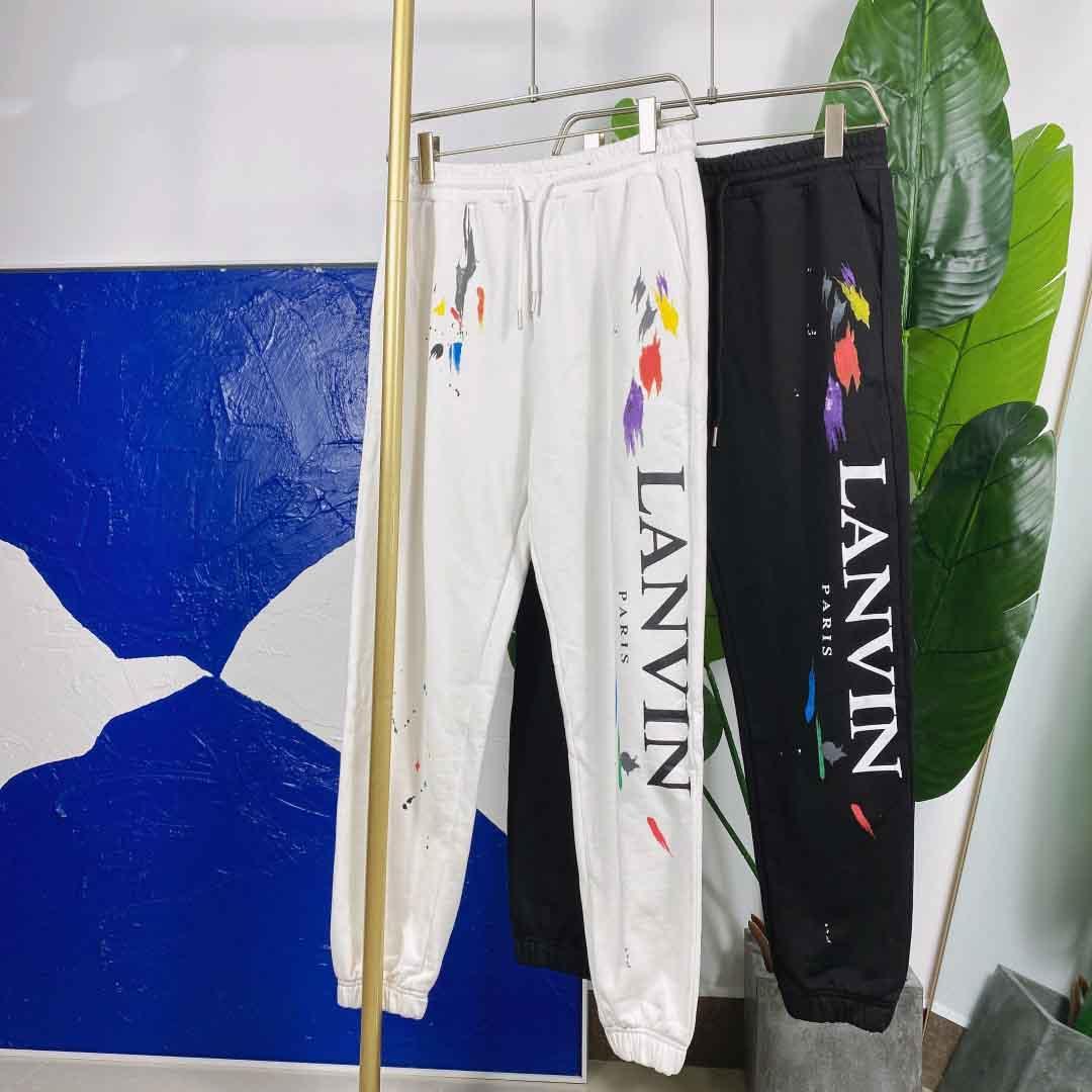 2021ss Spring and Summer Nouveau Coton de haute qualité Impression à manches courtes T-shirt T-shirt Tableau: M-L-XL-XXL-XXXL Couleur: noir blanc A21ZS123