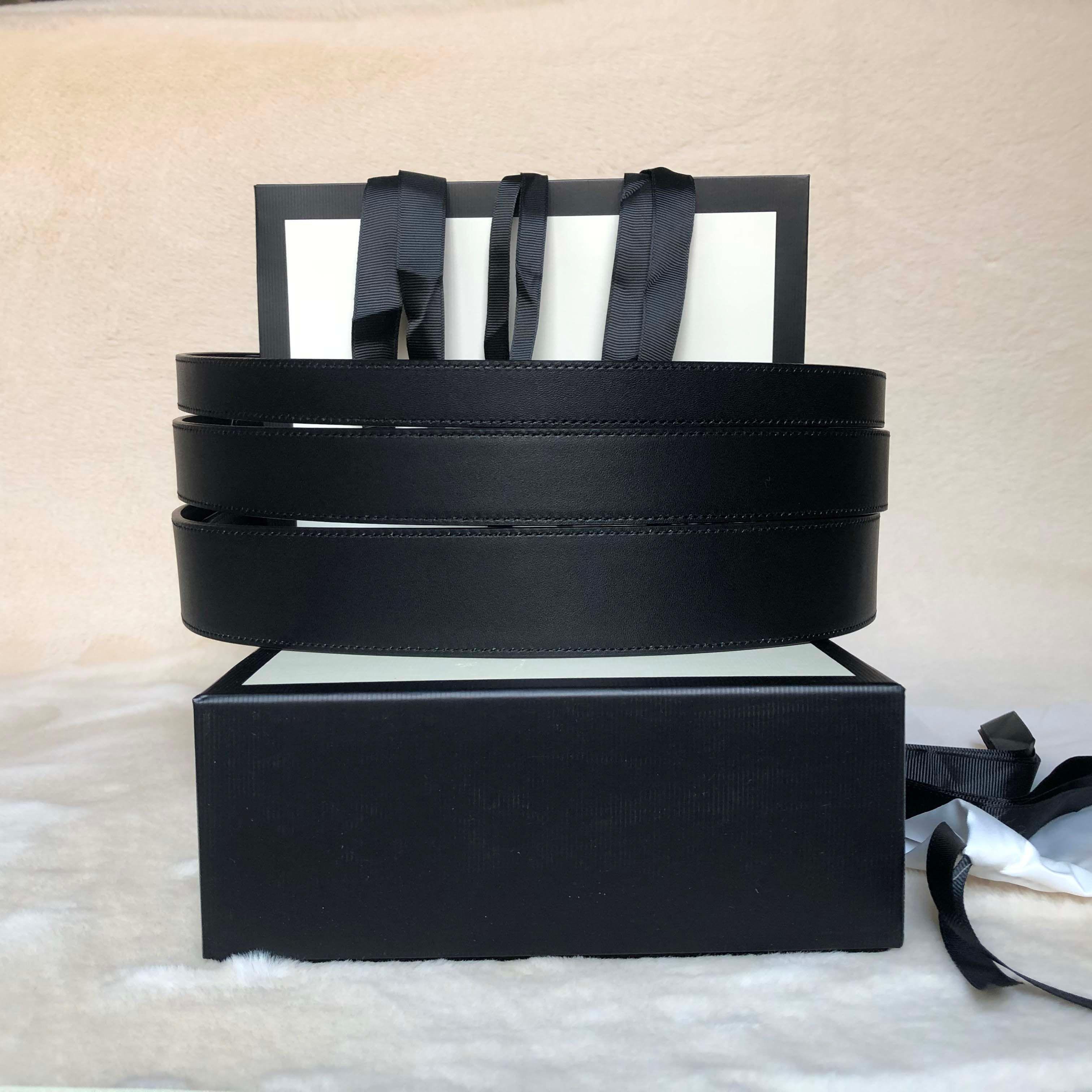 2021 Cintura classica di alta qualità 6 colori Cintura con fibbia con scatola Fashion Differenti larghezze Genuine Pelle Pelle Designer Cinture 1688
