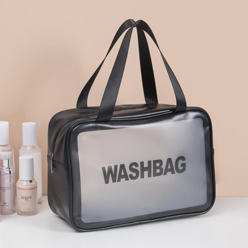 Make up Bag 2021 Neue Stil Super Feuer Ins Wind Große Kapazität Tragbare Frauen Reisen Wasserdichte Toilettenartikel Aufbewahrungstasche Tragbar