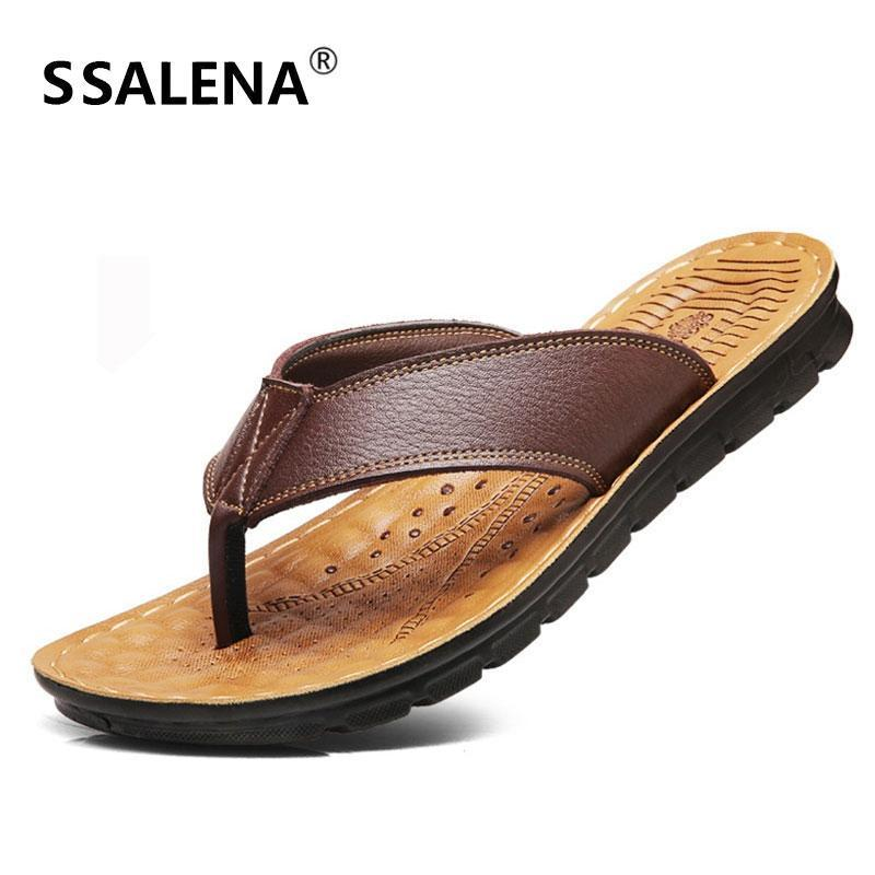 Hombres Beach Summer Slippers Flip Flozs moda Sole Sole Slippers antideslizantes Océano Océano Agua Zapatos transpirables 11658