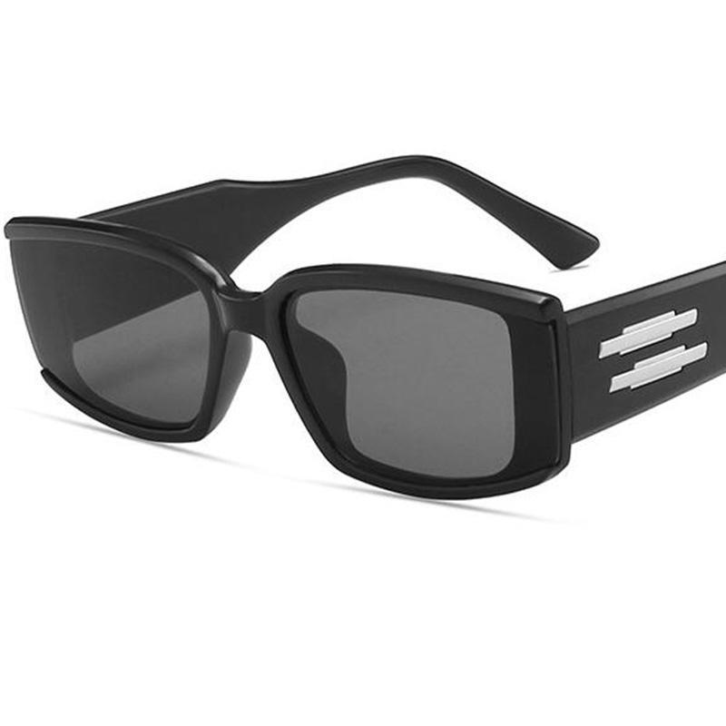 Gafas de sol Moda Cuadrado Mujeres Diseñador de la marca Pequeñas gafas de sol para mujer Viaje al aire libre femenino Vintage Shades UV400