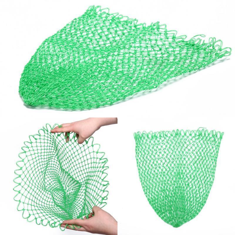 2021 Nuovo Nylon Pesca Net Rhombus Mesh Hole Net Tools Pesca pieghevole Strumenti di pesca Verde Drop Shipping