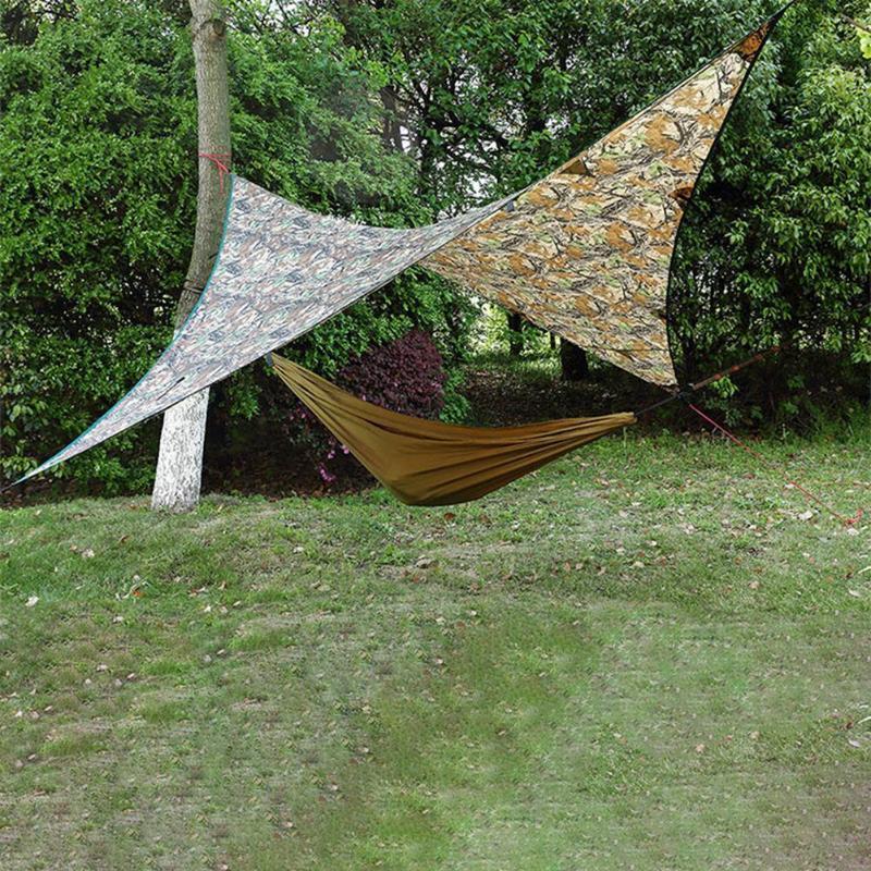 Shade 275*275cm Awning Waterproof Tarp Tent Ultralight Garden Canopy Sunshade Outdoor Camping Hammock Rain Beach Sun Shelter