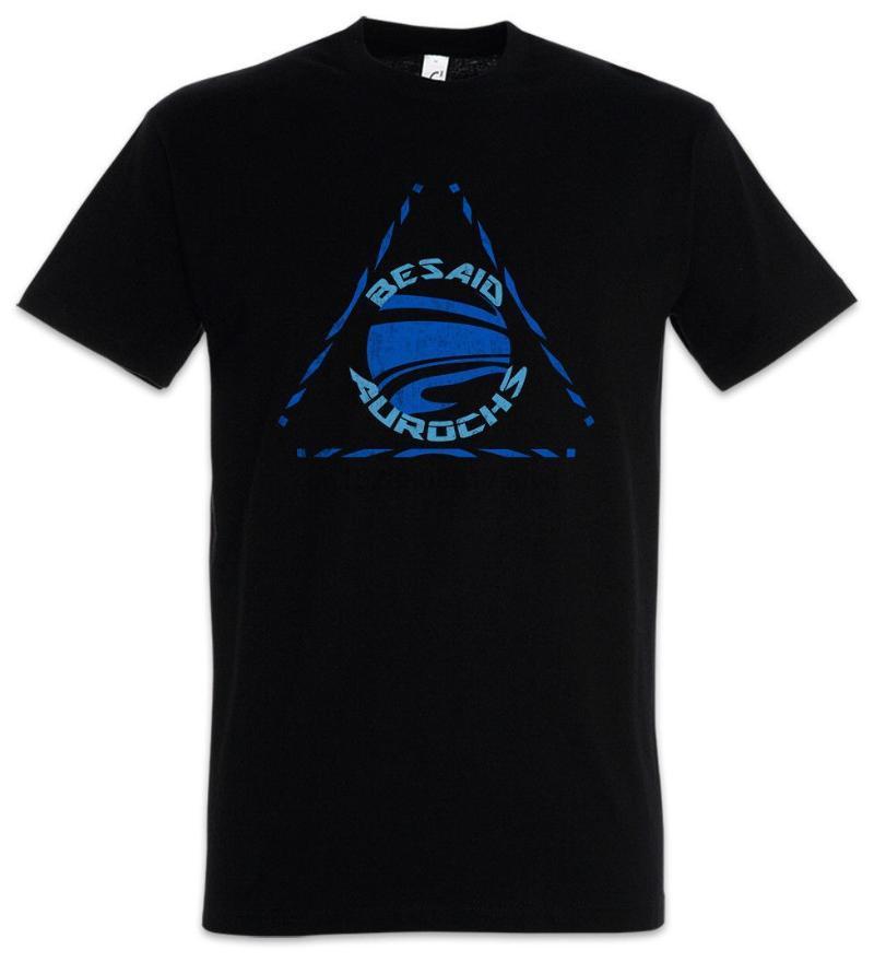 남성용 티셔츠 entage Besaid Aurochs 로고 Tshirt 게이머 Final Fantasy X Blitzball