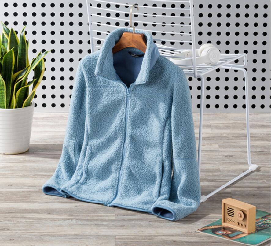 2021 New autumn /Winter Brand women Jacket velure polar fleece Fleece Jackets Fashion Soft Fleece Warm Coats Outdoor
