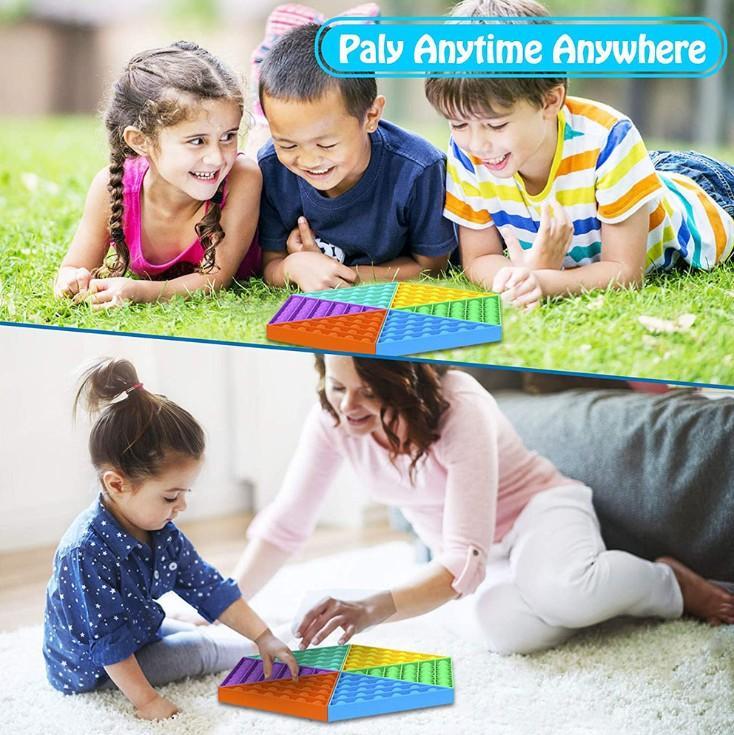 2021 Новая настольная игра Go Go Bang Foxmind Games Push Pop Hottet Games Reverse Стресс Сенсорные сжатие Детский Взрослый Подарочные игрушки