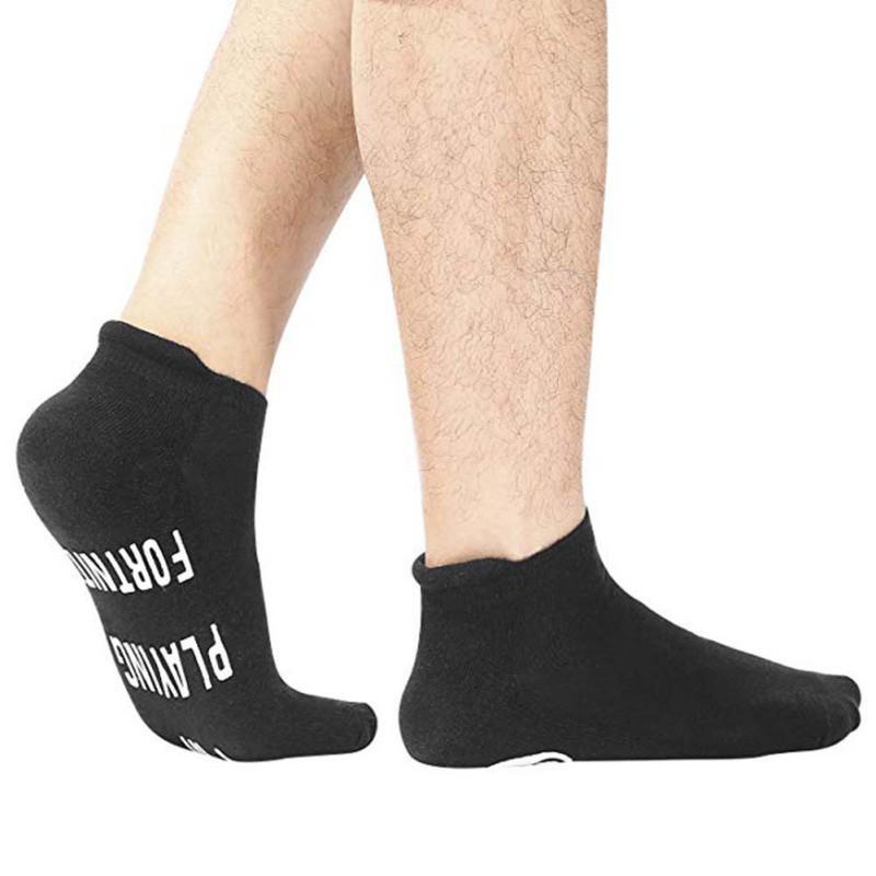 Orta Tüp Çorap Evrensel Rahat Unisex Nefes Çorap Mektubu Baskılı Elastik Nefes Pamuk Karışımı Hosiery Ayakkabı