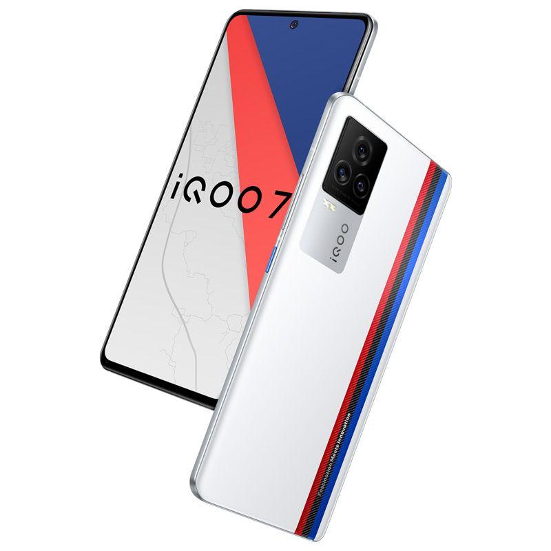 "Original IQOO 7 5G Mobiltelefon 12 GB RAM 256GB ROM Snapdragon 888 48MP AR NFC Android 6.62 ""Vollbild-Fingerabdruck-ID Gesichts-Weck-Handy"