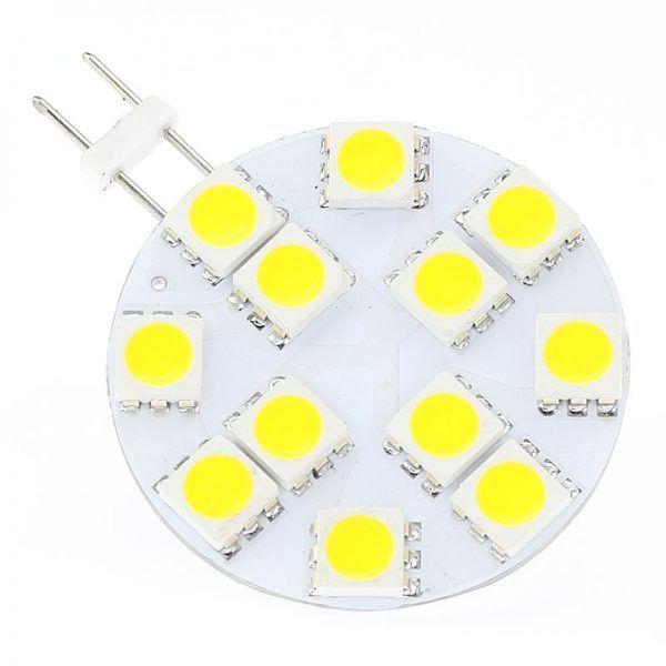 G4 Ekran LED Ampul Lamba 180 Derece Sıcak Beyaz LED Tekne Ampul Lamba AC / DC 12 V 24 V DC G4 Spot Lambası