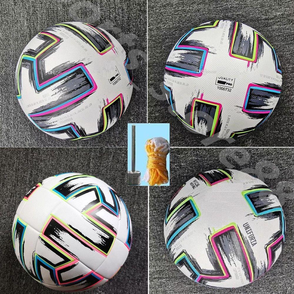 20 21 Top Quality Europeu Cup tamanho: 4 bola de futebol 2021 final Kyiv Pu tamanho 5 bolas grânulos de futebol resistente a deslizamento