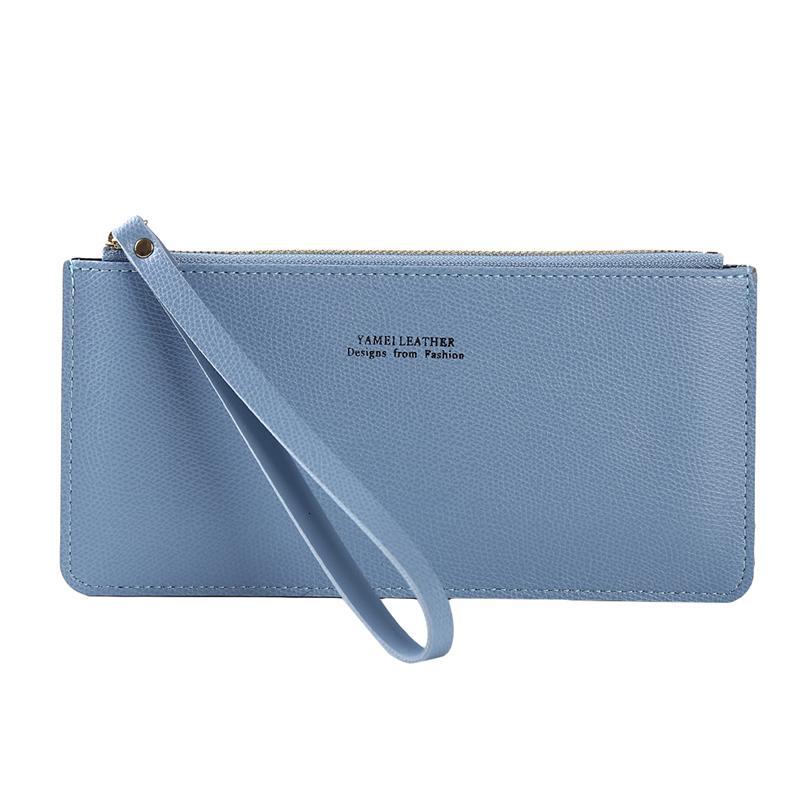 salesalePu On On Learn Pure wristband Rits Handbag Envelop Telephone Key Case Links For Women Wallet Fashion Task