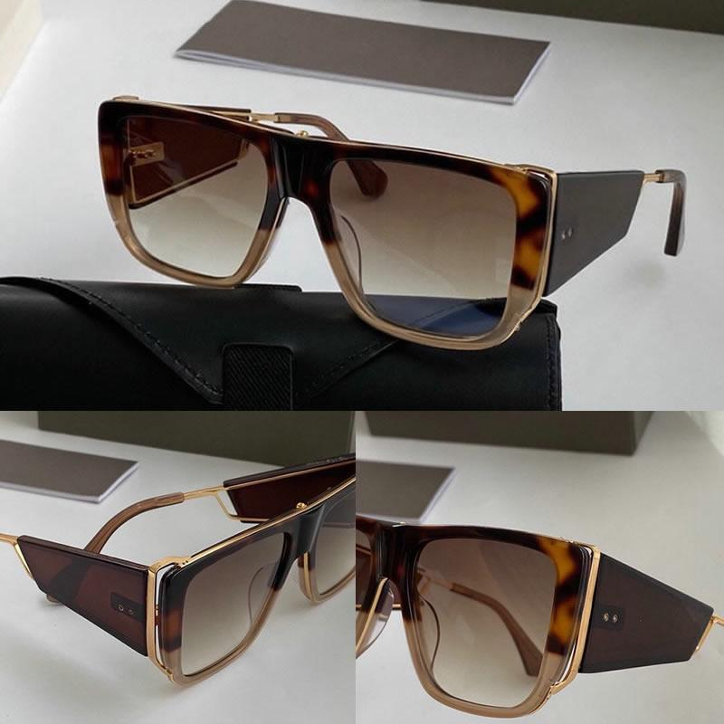 디자이너 여성을위한 선글라스 여성 패션 선글라스 스퀘어 여름 스타일 전체 프레임 최고 품질 UV400 보호 선글라스 상자와 함께 제공