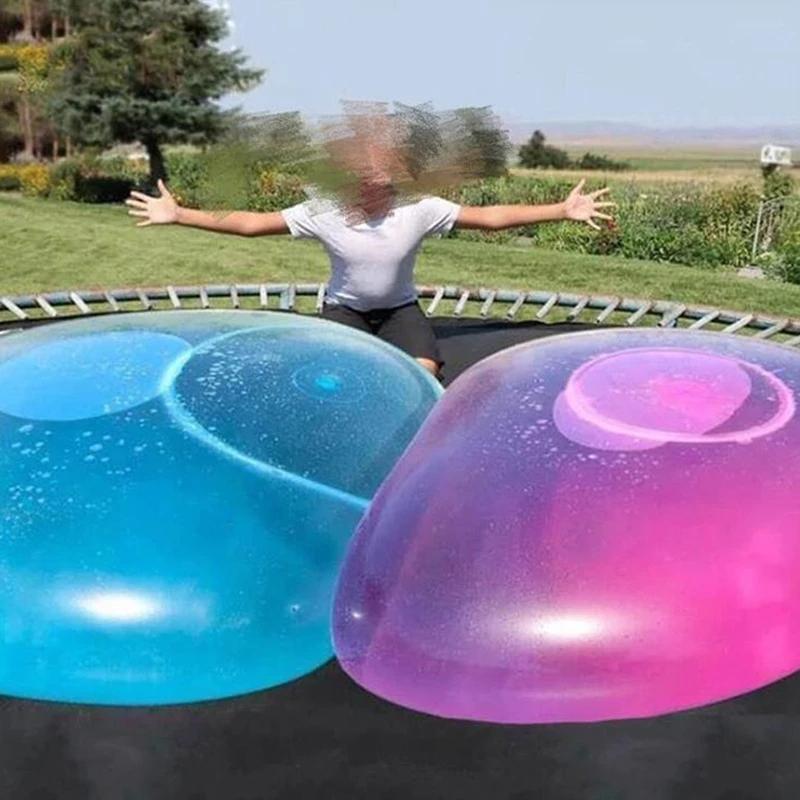 Дети Открытый Мягкий Воздушная Вода Заполнена Пузырьковый шар взорвать воздушный шар Игрушка веселья вечеринка игра Большие подарки оптом