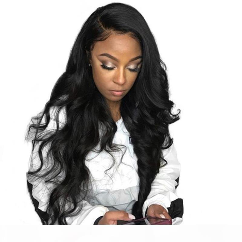 Onda solta brasileira peruca de renda completa com cabelo bebê glueless virgem remy cabelo humano solto profundo rendas curly perucas para mulheres negras