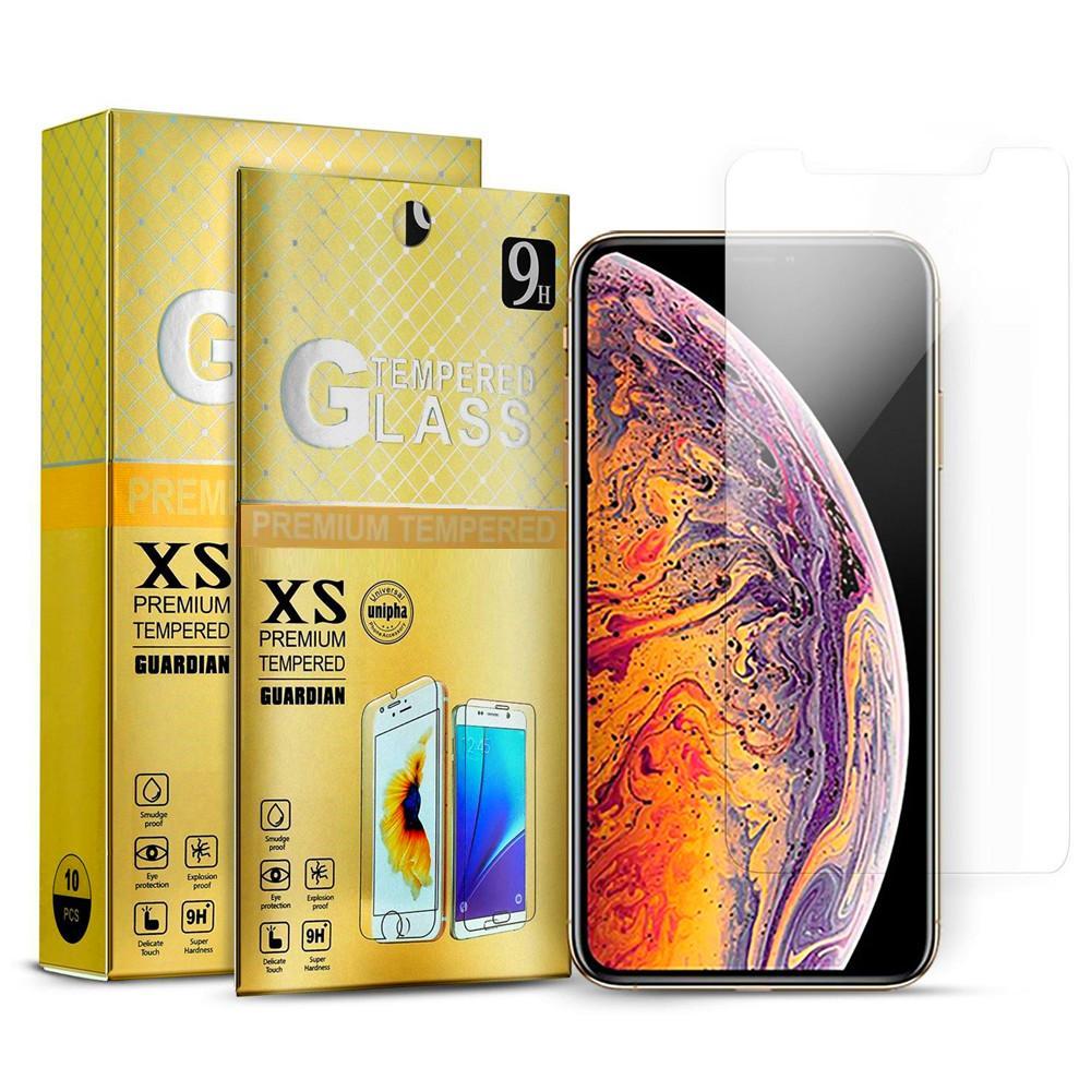 Pellicola proteggi schermo in vetro temperato 2.5D per iPhone 11 12 13 Pro Max X XR XS Max 8 7 6S Plus Huawei P30 Lite Mate 20 A20 A30 A50 J7