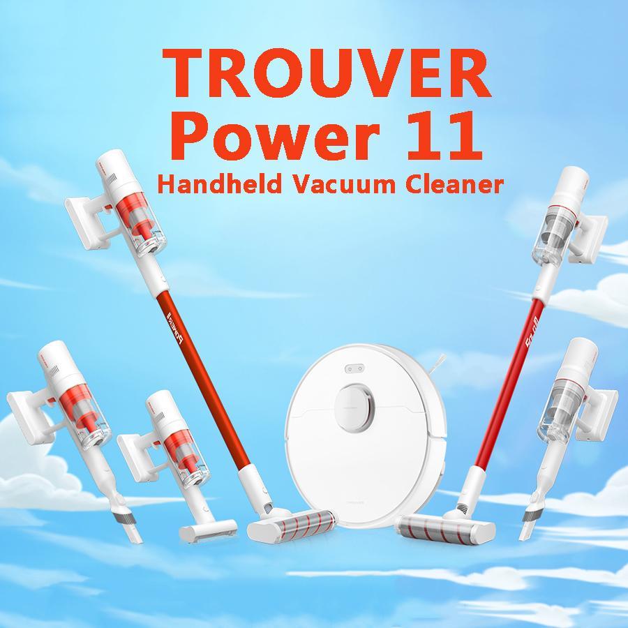 [UE in magazzino] Potenza di Trouviser 11 Solo10 Aspirapolvere palmare per la casa Auto wireless Spazzatura wireless 120aw 20000PA Forte Aspirazione ciclone Multi Brush Catcher