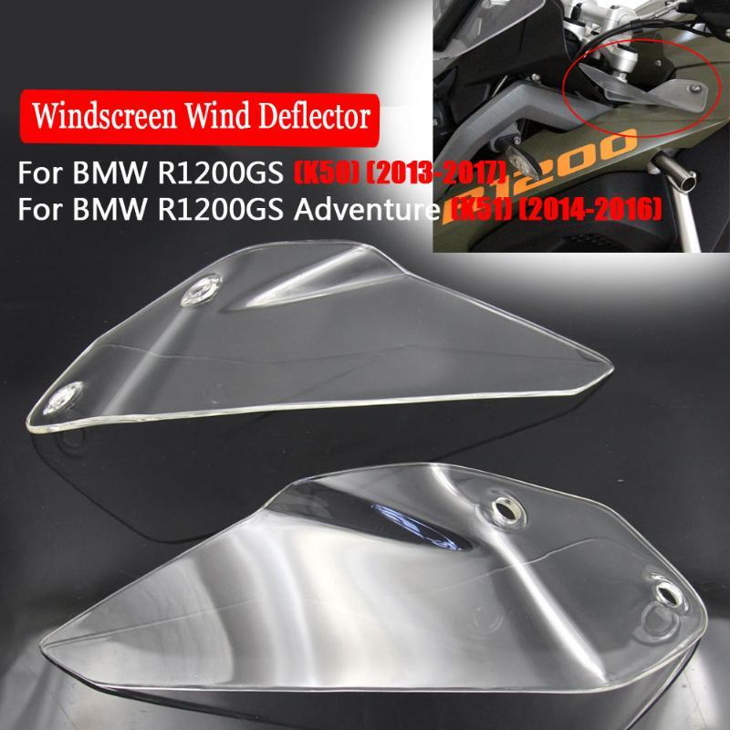 Motorcycle Windshield Borde Windscreen Wind Screen para R1200GS Adventure K51 2014 2021 R1200 GS R 1200GS 1200