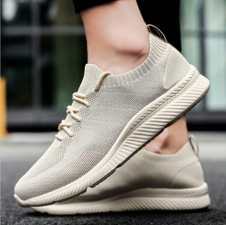 New arrive Fashion Casual Shoes Mens Sock Speed Trainer Breathable Sneakers Knitting Slip-on High Quality Ultralight Sports Shoe size 36-46