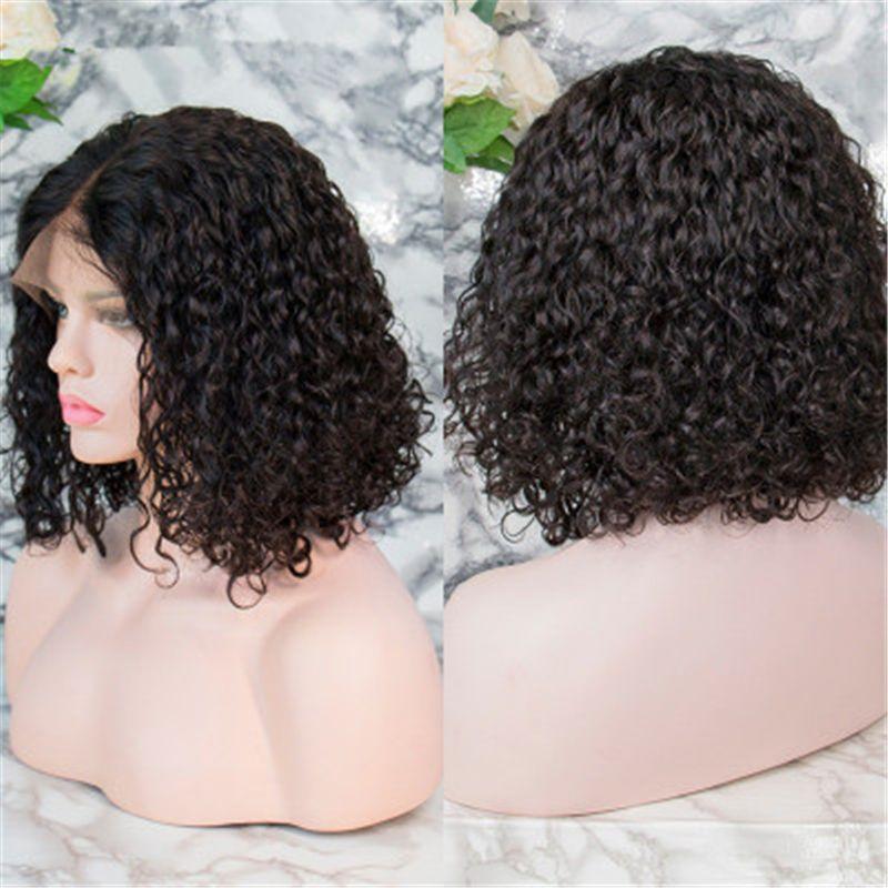 Frauen für schwarze kinky afrikanische Cosplay mit Pony Hair Perücken Kurzer lockiges synthetisches Omber Glueless Afro Perücken Hohe Temperatur Lizzy TPart