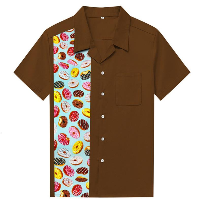 Stampa 2021 Camicia in cotone moda nuovo manica Brevi camicie casual camicie da uomo grandi dimensioni camisa masculina vestibilità abita da partita abitanti da partita KCFI