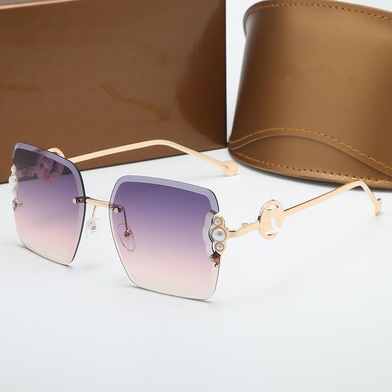 2021 Moda Polarize Güneş Gözlüğü Kore GM Büyük Çerçeve Sunglasse Erkek Ve Kadın Aynı Anti Ultraviyole Net Kırmızı Gözlük
