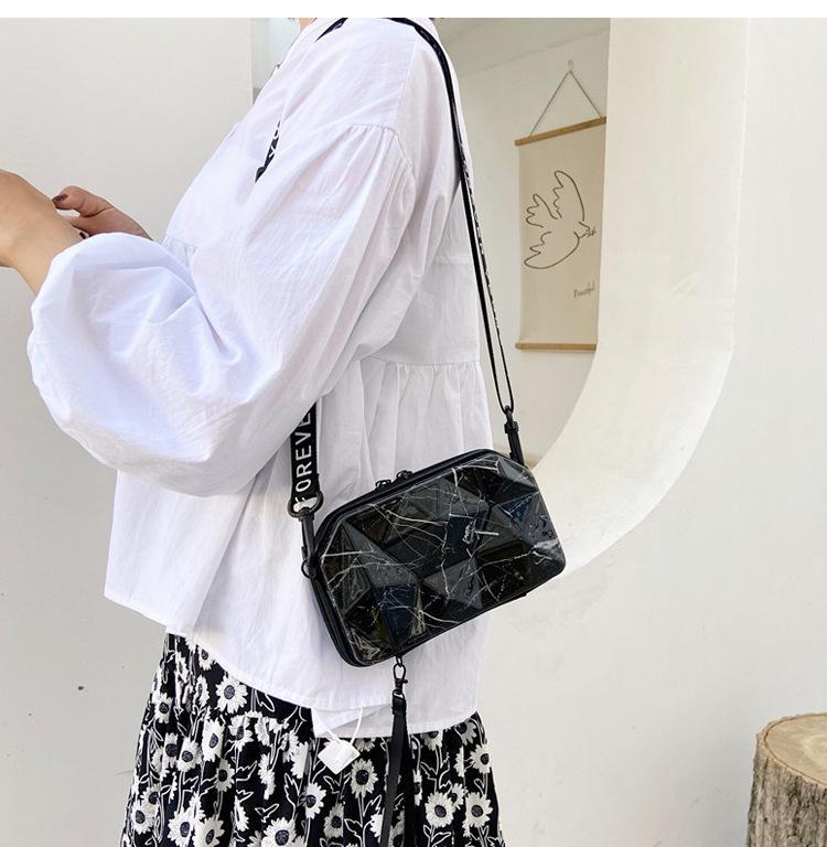 حقيبة الأمتعة شخصية حقيبة كتف المرأة واحدة 2021 الماس الصلب شل الترفيه السفر رسول أكياس صغيرة حقيبة يد