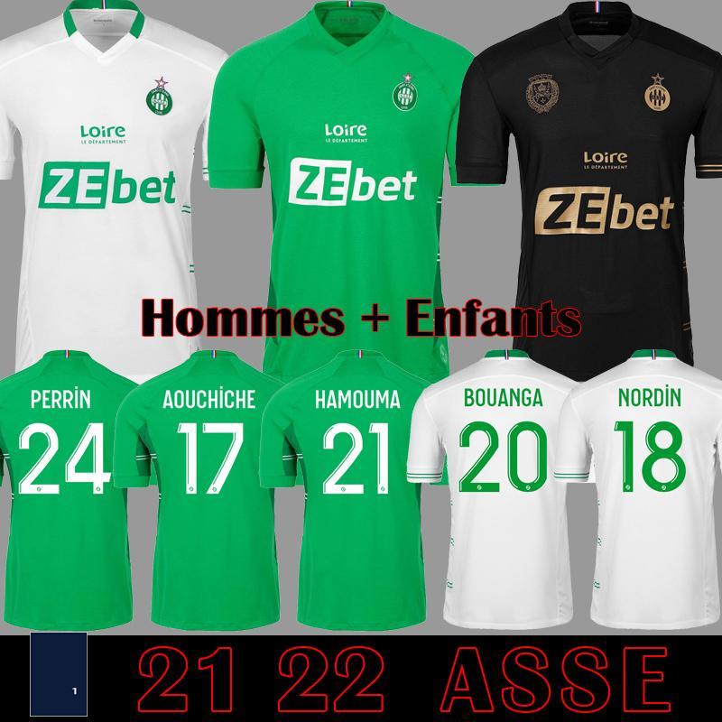 Le Coq Sportif AS Saint Etienne Maillot ASSE 2019 2020 Camisas De Futebol 19 20 KHAZRI CABELLA BERIC NORDIN HAMOUMA camisas de Futebol equipamentos tops Camisetas