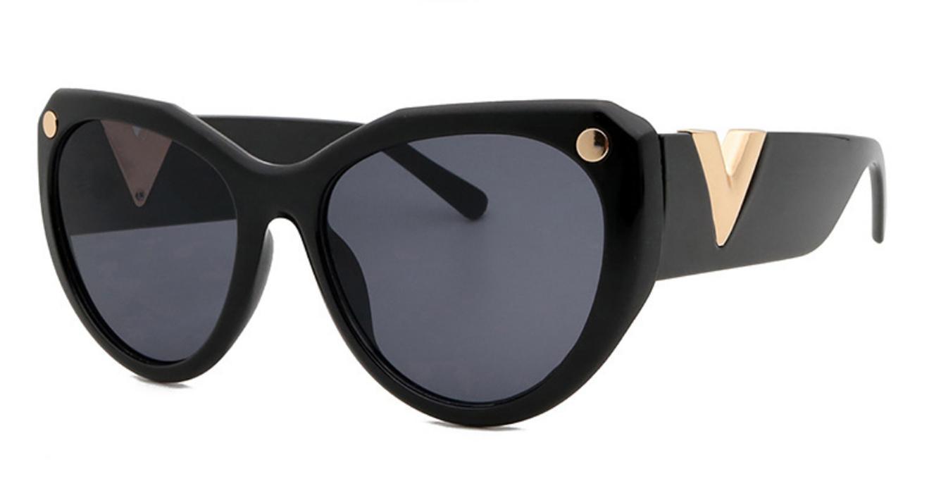 Z1364E جديد أزياء دليل نظارات الرجعية خمر الرجال مصمم لامعة الذهب إطار ليزر شعار المرأة أعلى جودة مع حزمة uv400 عدسة