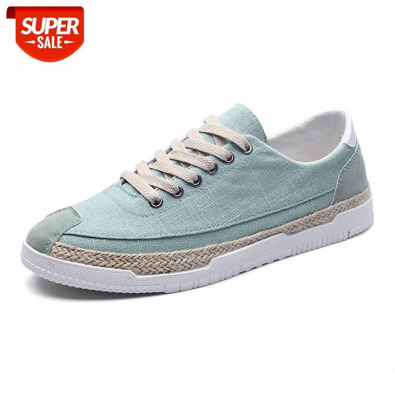 Мужчины кроссовки дышащие моды летние мокасины мужские повседневные туфли супер легкие кружевные квартиры обувь Zapatos Hombre # V41L
