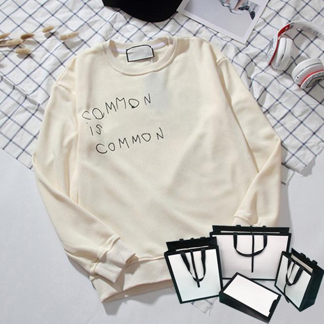 Hombres mujeres moda sudaderas con capucha 19fw jerseys para hombre sudaderas de moda letras de moda imprimidas de manga larga ropa M-2XL 6 estilos