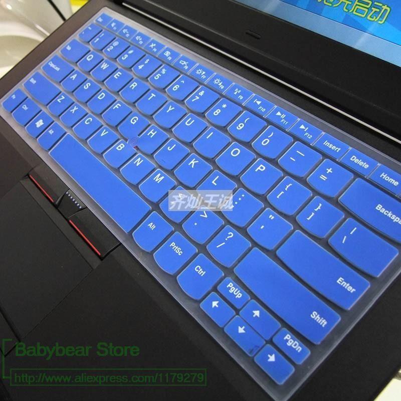 Tastatur-Abdeckungen für Lenovo IBM ThinkPad Edge E30 E40 E50 E13 E31 E420 E425 E320 E325 E420s 13 S420 Silikon Hülle